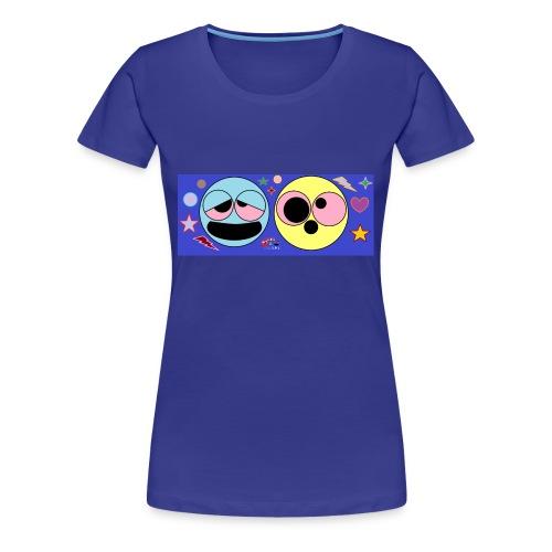 allucinazioni_da_acido_con_logo-png - Maglietta Premium da donna