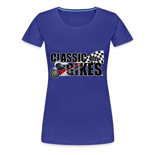 Classic Bikes 80s - Vrouwen Premium T-shirt