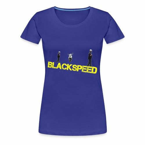 BLACKSPEED Design - Frauen Premium T-Shirt