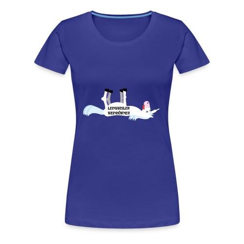 Leinsweiler Weinhoerner - Frauen Premium T-Shirt