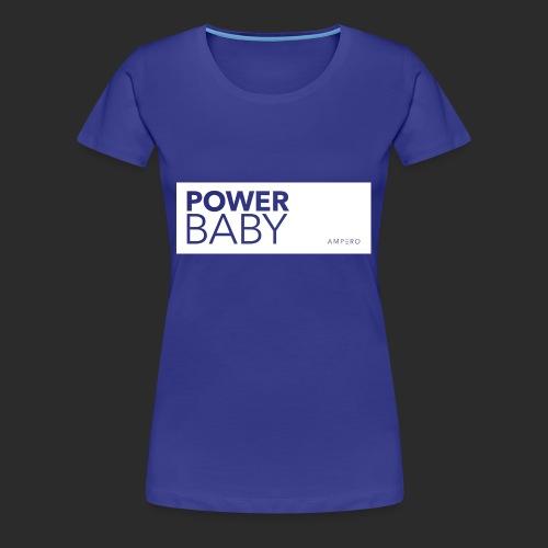 AMPERO Power Baby - Frauen Premium T-Shirt