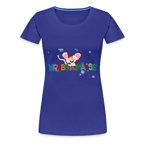 Krabbelmaeuse Andrea - Frauen Premium T-Shirt