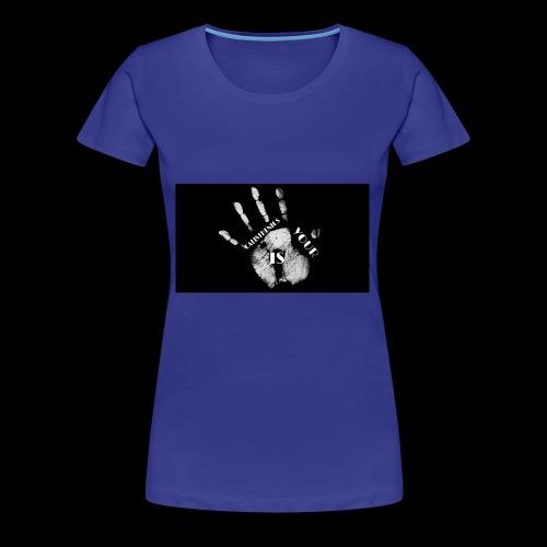 Calisthenics mano - Maglietta Premium da donna