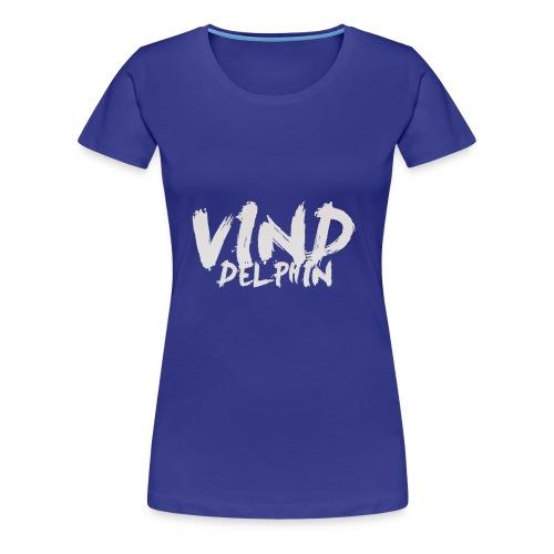 VindDelphin - Vrouwen Premium T-shirt