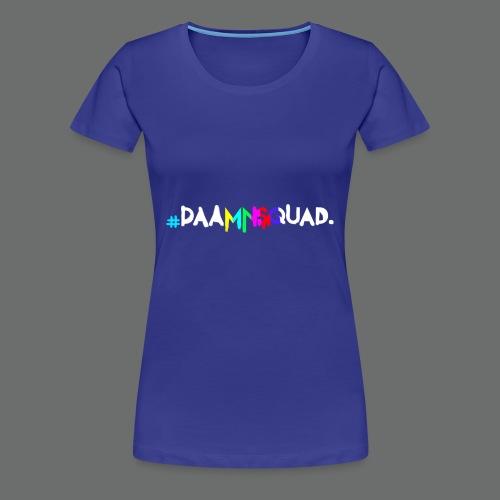 daamnsquad font - Frauen Premium T-Shirt