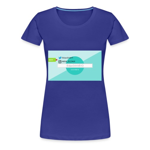 ELDAVI044 - Camiseta premium mujer