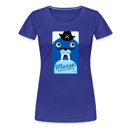 Mursu - Naisten premium t-paita
