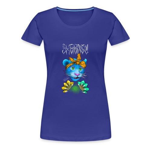 Cat - Maglietta Premium da donna