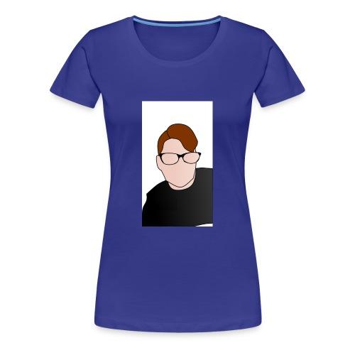Yt logo - Vrouwen Premium T-shirt