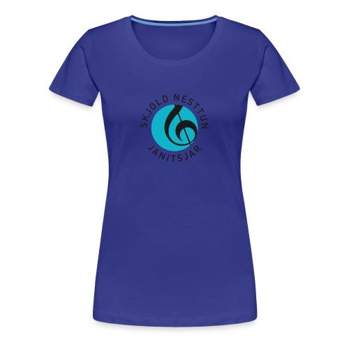 Polo trøye menn slim - Premium T-skjorte for kvinner