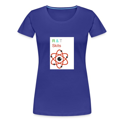 R & T skits YT channel design - Women's Premium T-Shirt