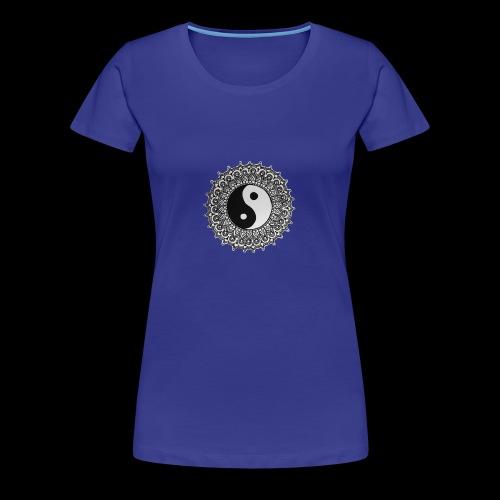 Yin und Yang - Frauen Premium T-Shirt