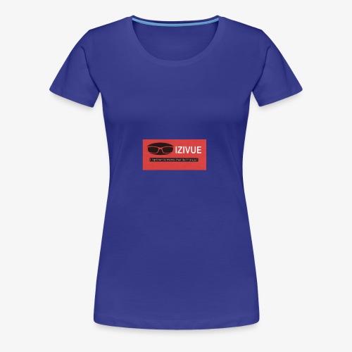 LOGO IZIVUE - T-shirt Premium Femme