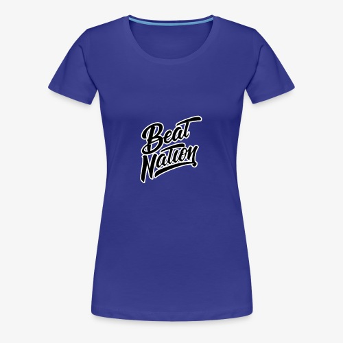 Logo Officiel Beat Nation Noir - Frauen Premium T-Shirt