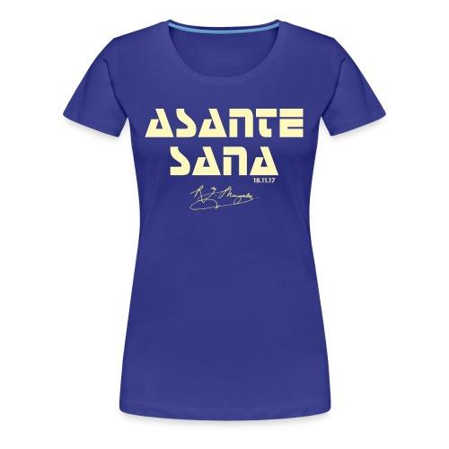 Asante sana pale gold - Women's Premium T-Shirt