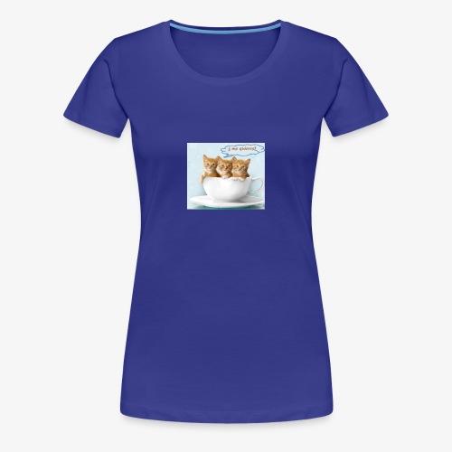 gatito - Camiseta premium mujer
