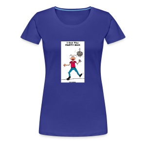 BACK PARTY BUG COL - Women's Premium T-Shirt