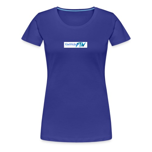 Kiwi logo hoodie - Women's Premium T-Shirt