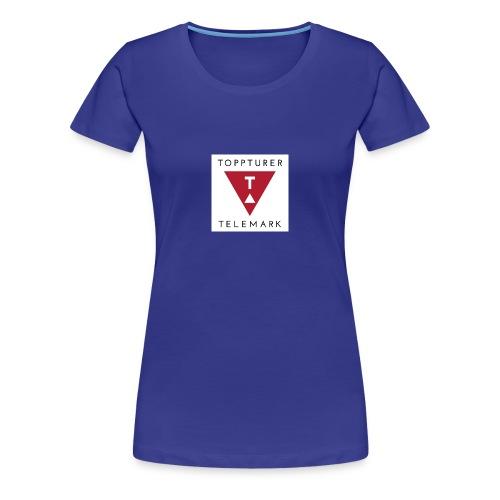 Topptur Telemark - Premium T-skjorte for kvinner