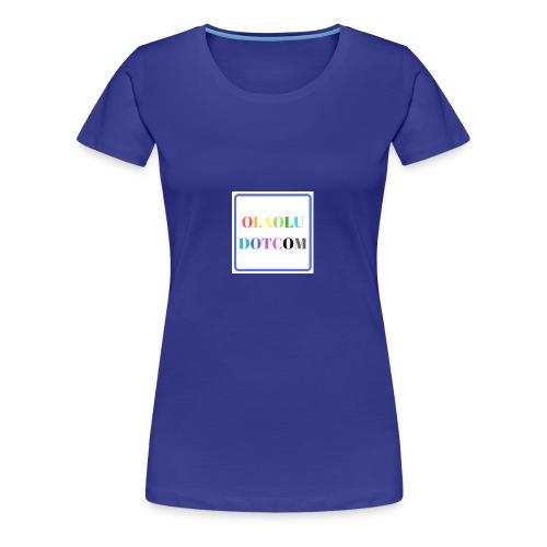OLAOLUDOTCOM - Women's Premium T-Shirt