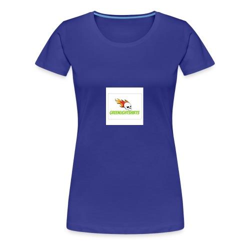 GREEN LIGHT SHIRTS LOGO - Women's Premium T-Shirt