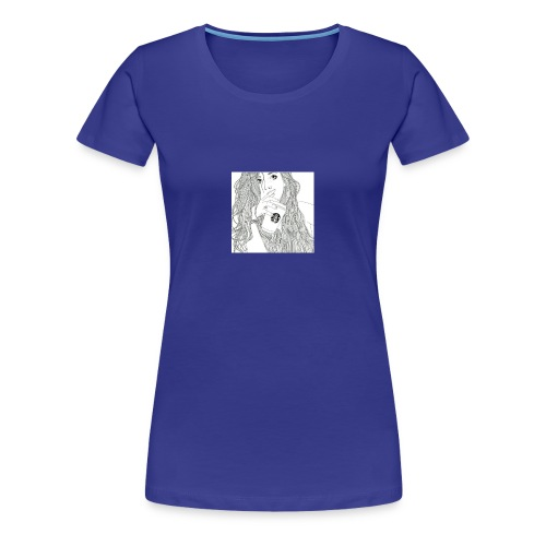 Girl - Dame premium T-shirt