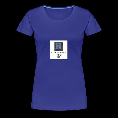 Paper iPhone X - Women's Premium T-Shirt