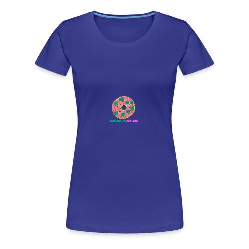 20%Healthy 80%Junk - T-shirt Premium Femme
