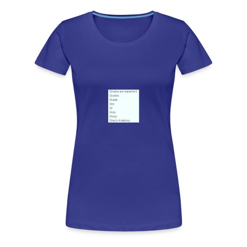 greys anatomy life - Women's Premium T-Shirt