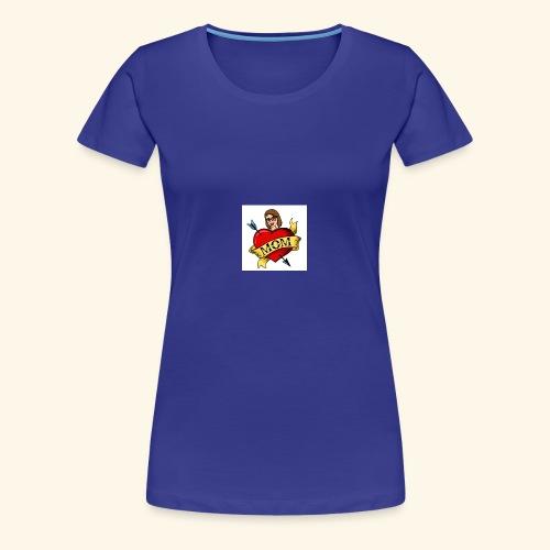 I love you MOM - T-shirt Premium Femme
