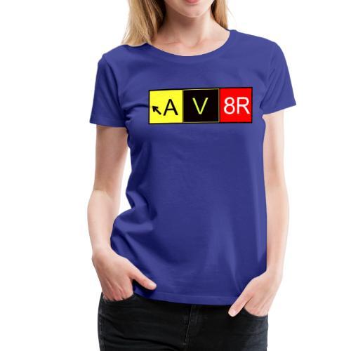 Taxiway AV8R - Frauen Premium T-Shirt