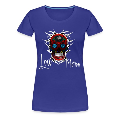 RED SKULL - Camiseta premium mujer
