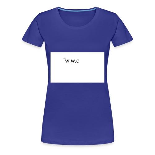 White Wolf Clothing - Dame premium T-shirt