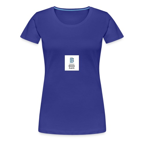 Bexon plays logo - Women's Premium T-Shirt