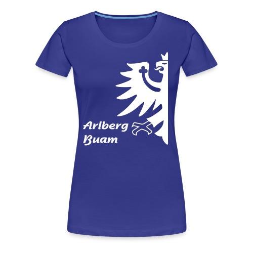 Arlbergbuam 3 - Frauen Premium T-Shirt