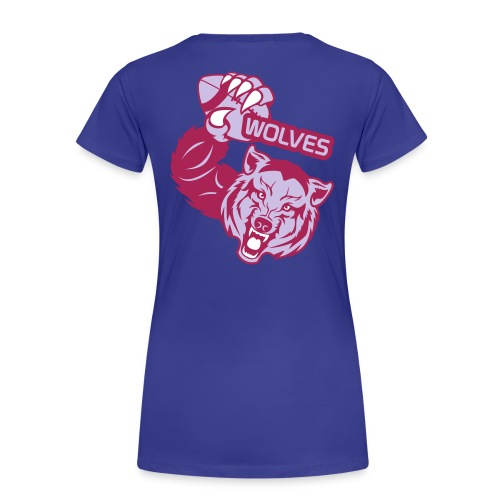 Wolves Rugby - T-shirt Premium Femme