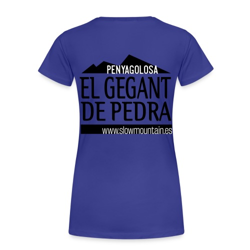 Penyagolosa - Camiseta premium mujer