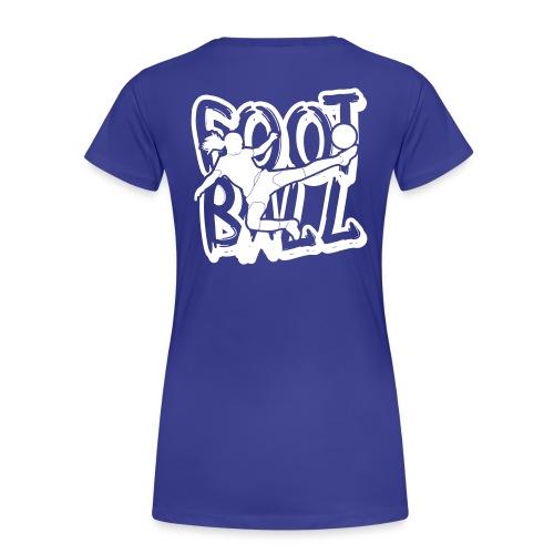 TAG FOOTBALL - T-shirt Premium Femme