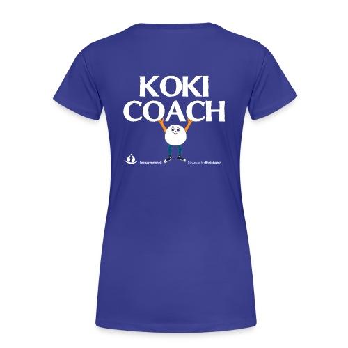 Koki Coach 13 - Frauen Premium T-Shirt