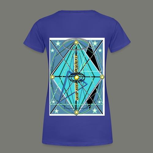 Clock of eternity - Frauen Premium T-Shirt