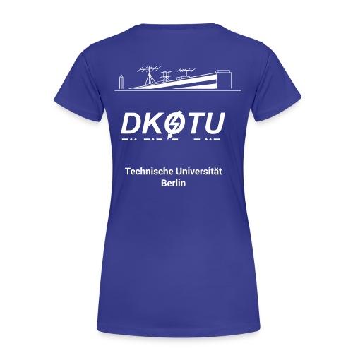 DK0TU Template Test 1 - Frauen Premium T-Shirt