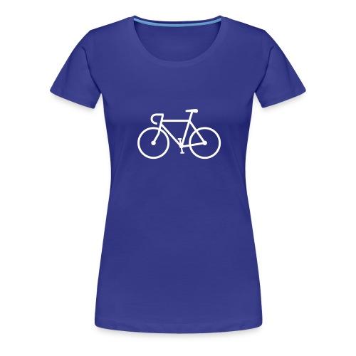 Fahrrad Bike Rennrad Bicycle Singlespeed Fixie - Frauen Premium T-Shirt