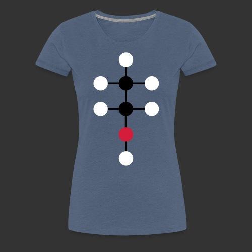 Alcool Molecule - T-shirt Premium Femme
