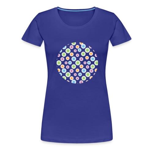 kropki - Koszulka damska Premium