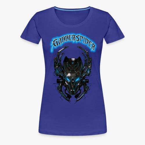 Gabberspider blue - Women's Premium T-Shirt