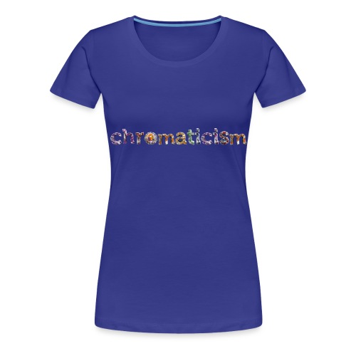 chromaticism logo tee (f) - Women's Premium T-Shirt