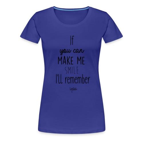 Mug en céramique Gröner Citation anglaise - T-shirt Premium Femme