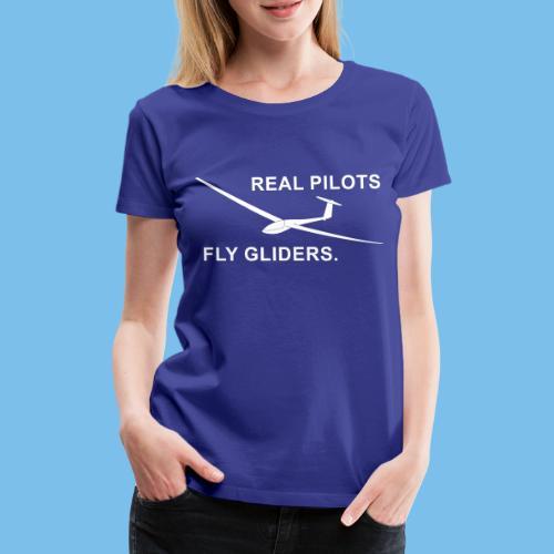 Segelflieger Segelflugzeug gleiten Geschenkidee - Frauen Premium T-Shirt