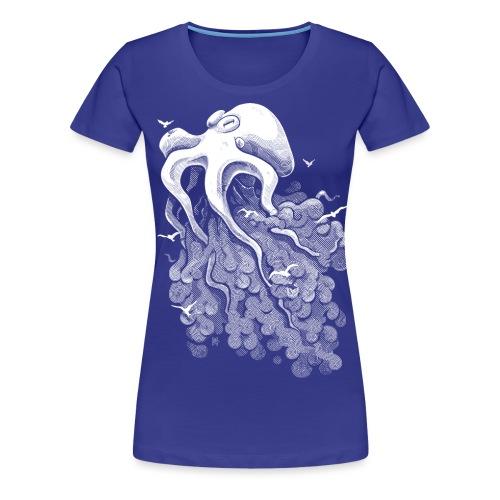 Deep Cloud - Women's Premium T-Shirt