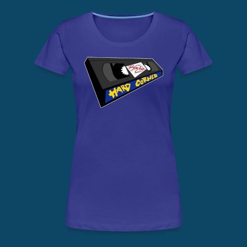 hardcornervhs - T-shirt Premium Femme